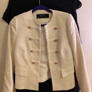 Zara Military Jacket Blazer with gold buttons